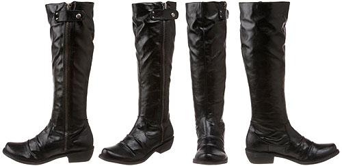 mia boots mia2 knee high black boots qhdnkfd