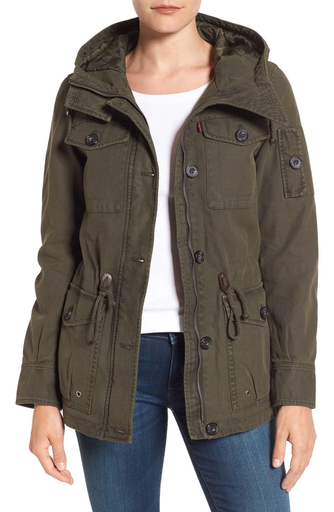 military jackets leviu0027s® cotton twill utility jacket kxxpqyl