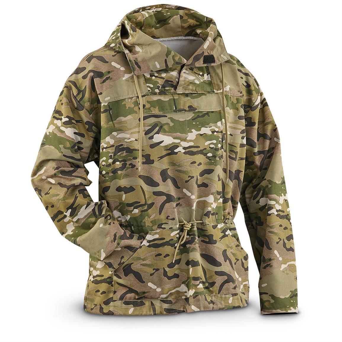military jackets u.s. military surplus menu0027s ocp camo anorak jacket, new hpwqeiv