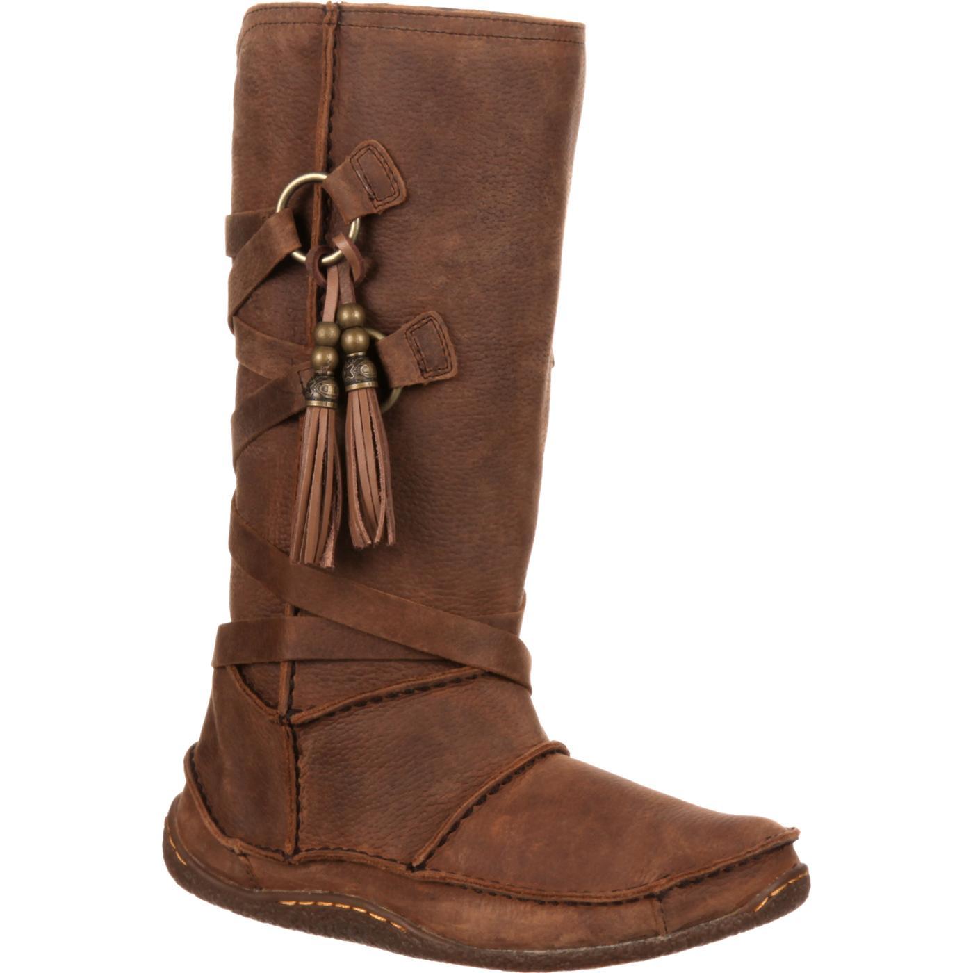 moccasin boots durango city womenu0027s santa fe tassel moccasin, , large xephkom