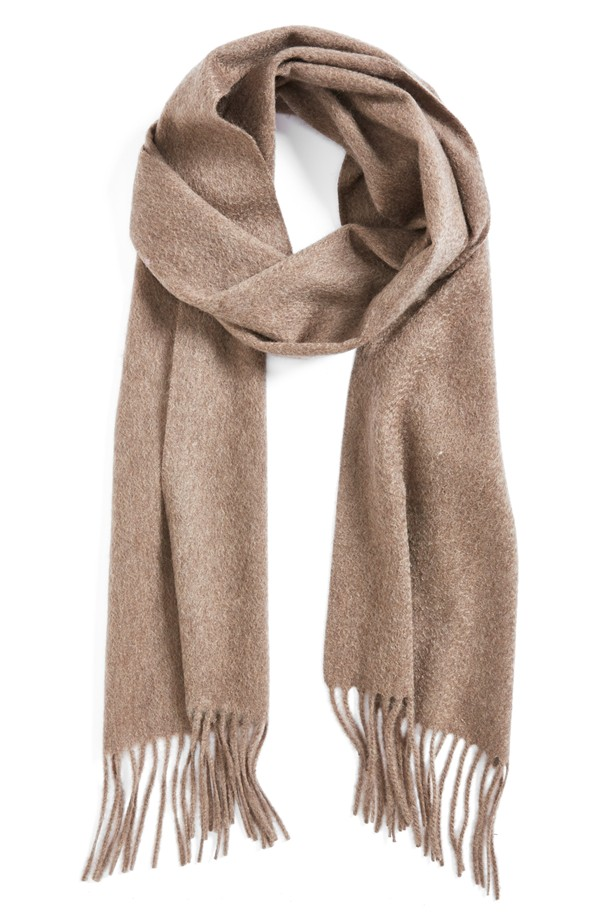 nordstrom solid woven cashmere scarf | nordstrom osumuid