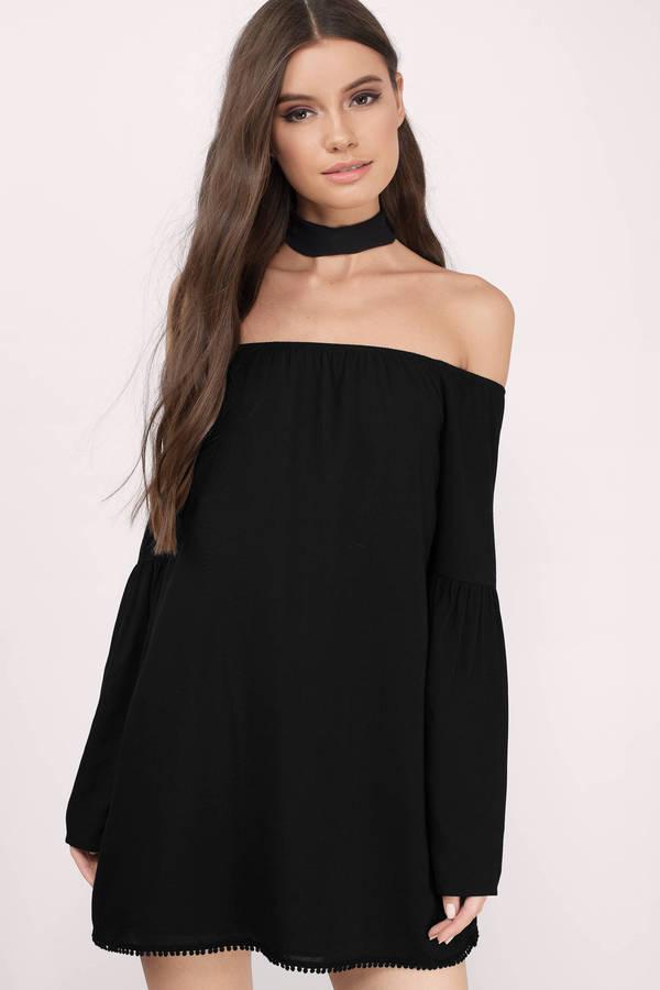 off the shoulder dresses cindy black shift dress llmzdiv