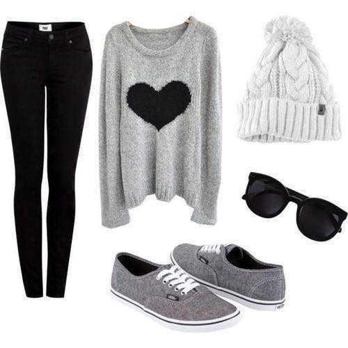 outfits for girls cool winter clothes for teenage girls. images source pinterest , polyvore drevonr