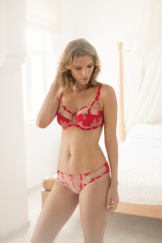 panache lingerie panache_clara_full_cup_7255_brief_7252_red_gold_l wqtabds