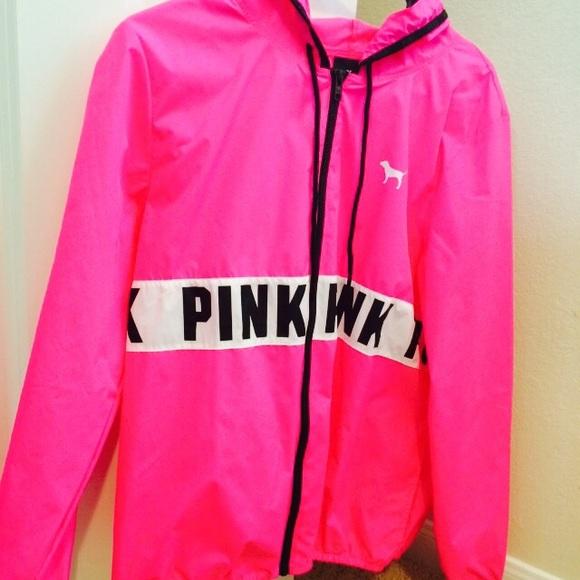 pink jacket sold on♏ pink nwot anorak jacket umvqelc