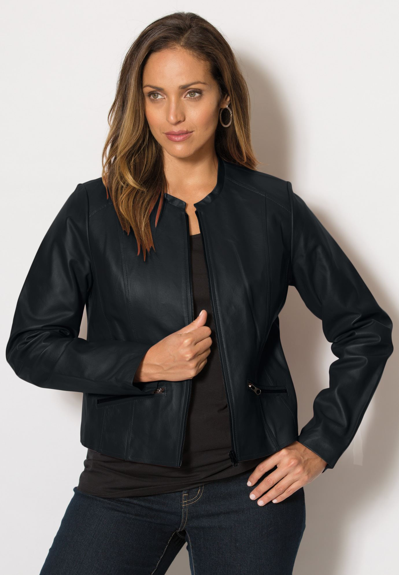 plus size leather jacket cropped leather jacket yyzkddw