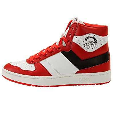 pony shoes pony mens city wing survival hi basketball shoes, red, 11 m us tyuvxdg