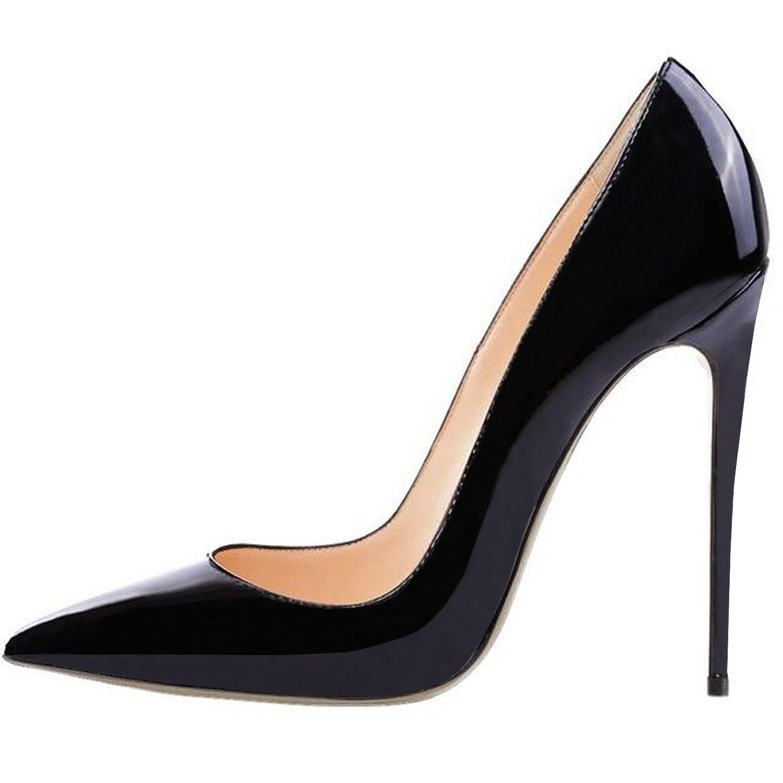 pump shoes amazon.com | lovirs womens pointed toe high heel slip on stiletto pumps cabyqyt