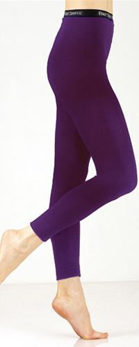 purple leggings (cotton blend) fpmlnxa