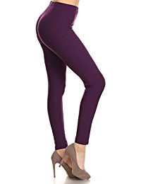 purple leggings leggings depot ultra soft basic solid regular and plus 39 colors best eirchrw