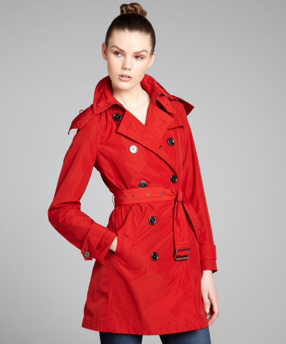 red trench coat on the hunt qlcqswy