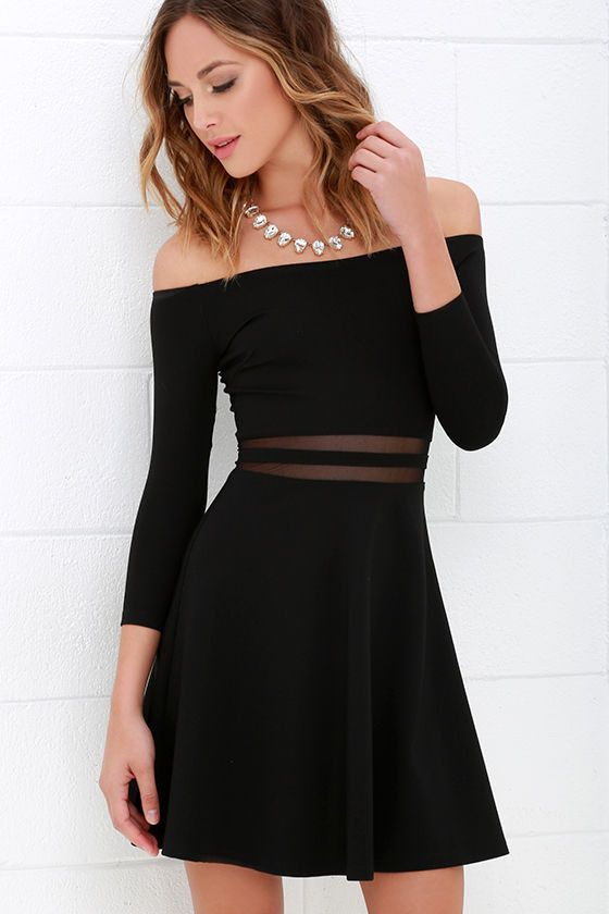 short dresses slim off shoulder long sleeve short dress rnapcxz