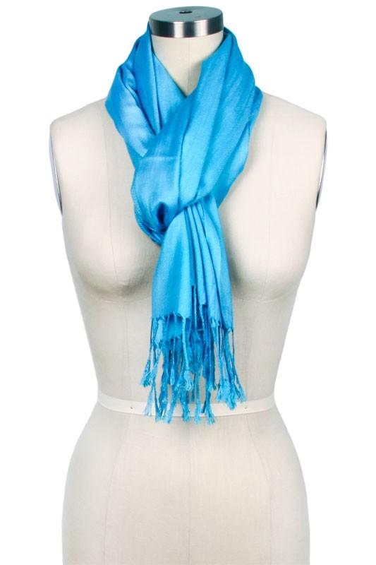 solid light blue scarf leoqvqp