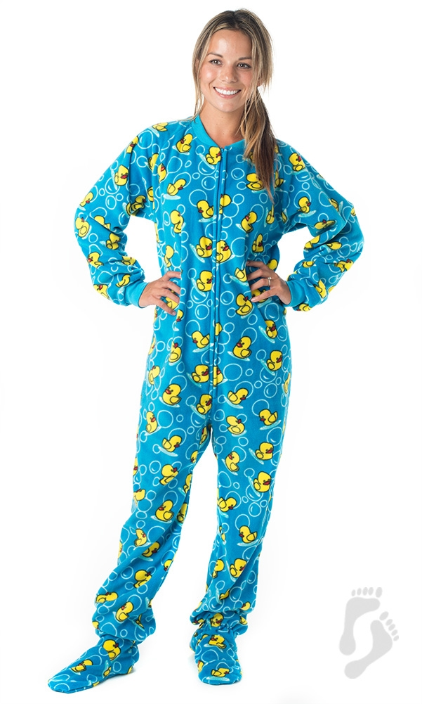 splish splash blue pajamas ©footed pajamas htdugst