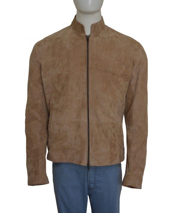 suede jacket james bond brown jacket swzeoga