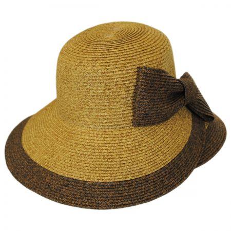 sun hats jeanne simmons overlap brim and bow toyo straw sun hat hmkmkjl