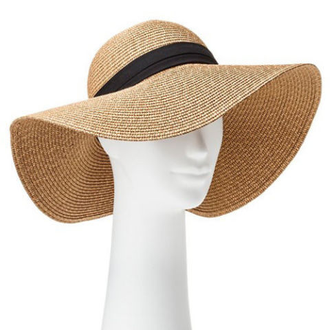 sun hats target tan floppy hat with black band qfsvacy