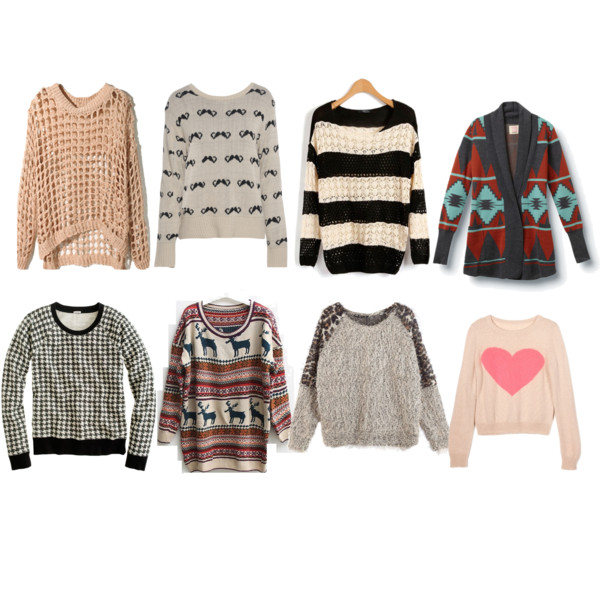 the eight types of fall sweaters every girl needs pvzldzs