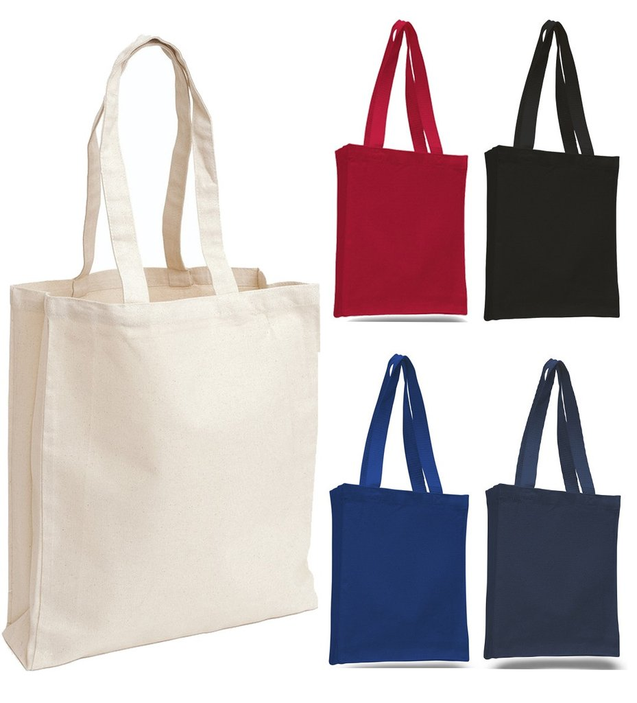 totes bags cheap canvas tote bag / book bag with gusset hjovezk