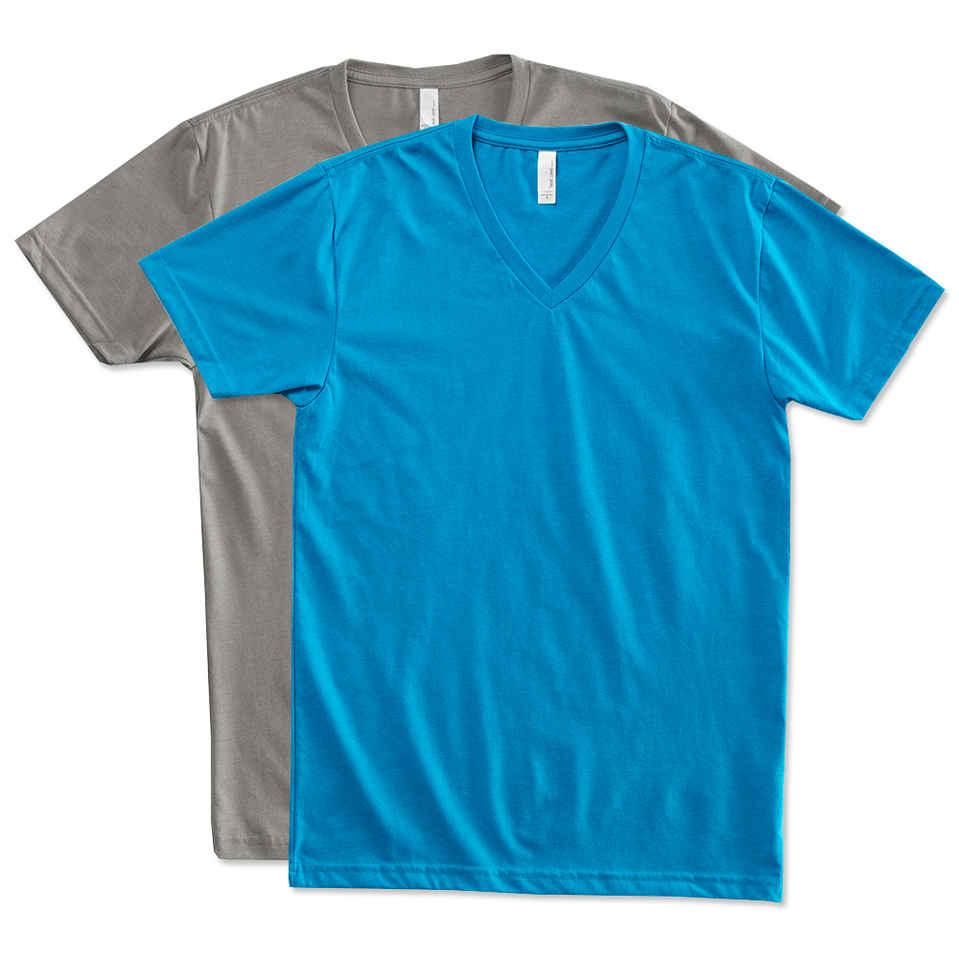 v neck shirts custom next level 60/40 v-neck t-shirt - design short sleeve t-shirts  online opdozrg