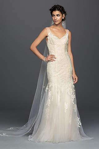 vintage lace wedding dresses vintage wedding dresses - lace u0026 gown styles   davidu0027s bridal xrgoqqc