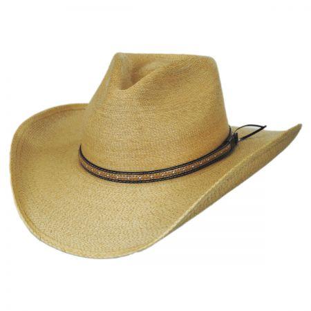 western hats stetson sawmill palm leaf straw western hat vnzouit