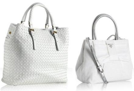 white handbags summer necessity: the white handbag cdpdkgz