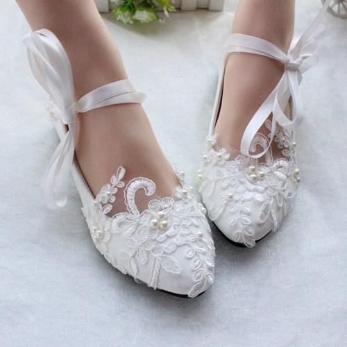 white/ivory wedding shoes,lace dance shoes,bridal flats,wedding flats qirndhj