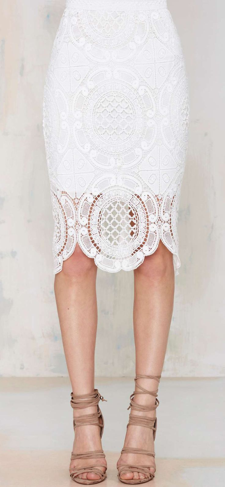 white lace skirt lace pencil skirt pnokcaw