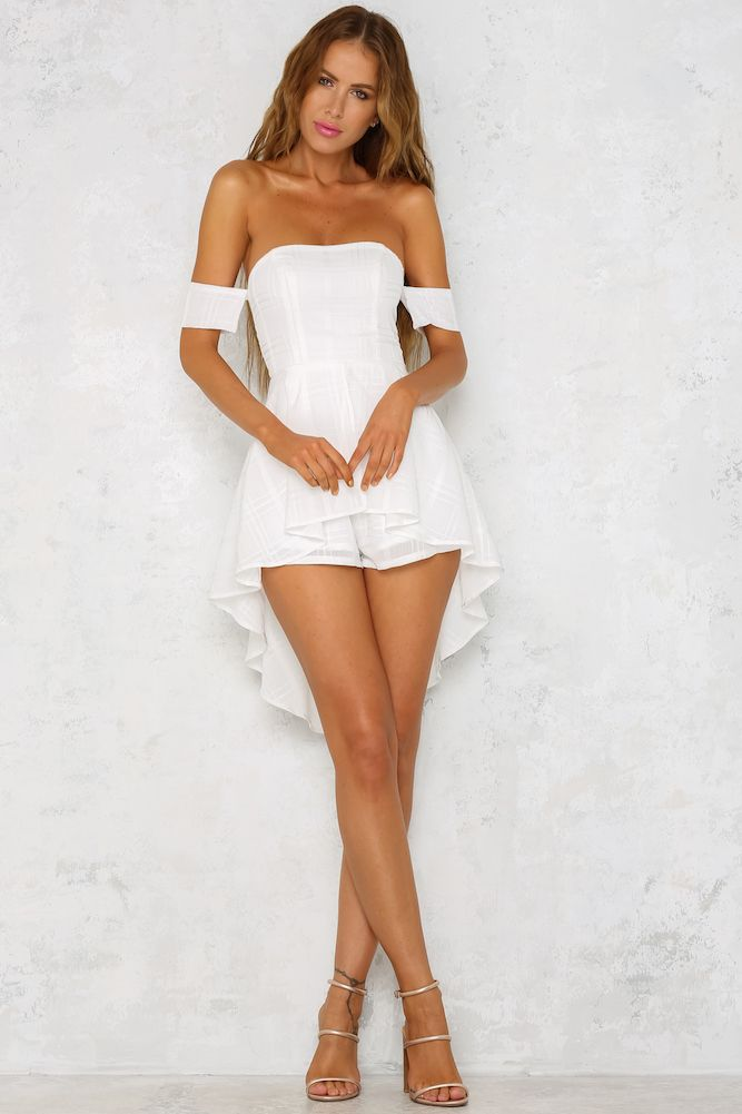 white playsuit rock with you playsuit white ... ixdfwrs
