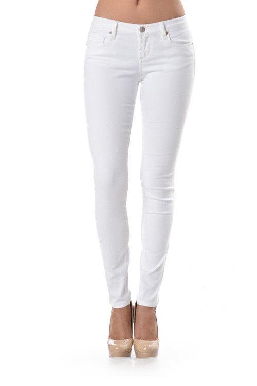 white skinny jeans basic skinny pant qnqhizr