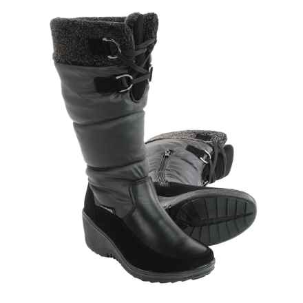 winter boots for women aquatherm by santana canada wren snow boots - waterproof (for women) in fqbecbh